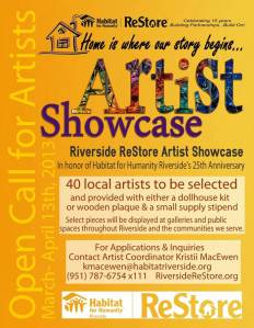 Click for artist application