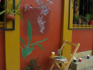 Orquideafilia Mural. @ Bianaca Ana Chavez, all rights reserved