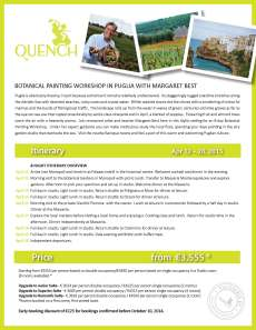 Click to view itinerary at Quench Travel.