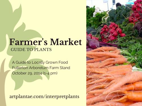 Farmer's Market Fullerton Arboretum