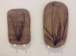 Plant Prints & Earth Painting Ceramic 2, ©2018 Tina Scopa, all rightsreserved