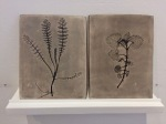 Plant Prints & Earth Painting Ceramic 3, ©2018 Tina Scopa, all rightsreserved