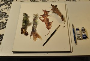 Nature Watercolor Workshop by Linda C. Miller